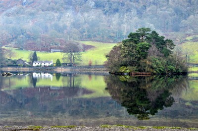 Greetings Card: Rydal Water 2Reflection