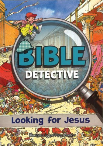 Bible Detective Looking for Jesus