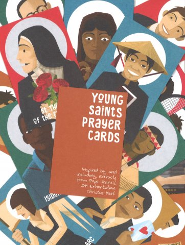 Young Saints Prayer Cards