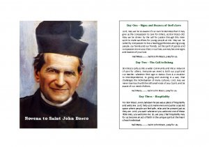 Novena to Don Bosco - Salesian Way of Life
