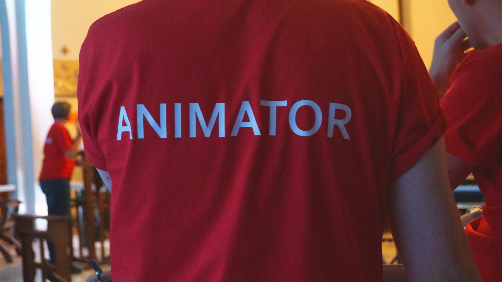 Salesian Youth Ministry animator t-shirt