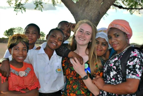 Volunteer Receives Warm Welcome In Tanzania