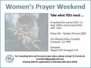 Women's Prayer Weekend
