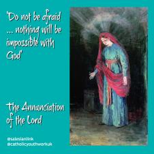 Online Mass:  the Annunciation of the Lord