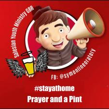 Join us for Prayers & a Pint on Fridays!