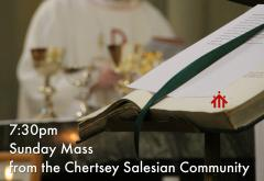 Sunday evening Mass from Chertsey