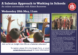 A Salesian approach to working in schools