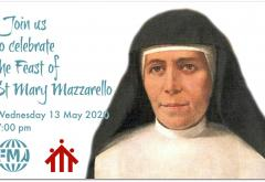 Join us online on the Feast of St Mary Mazzarello