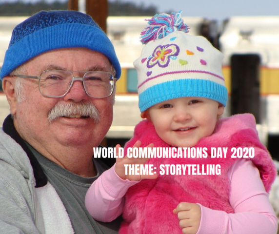 "World Communications Day: ""Life becomes history"""