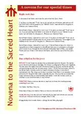 A Novena to the Sacred Heart for our special times