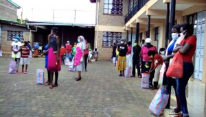 Salesian Sisters support Kenyan families hit by Covid-19