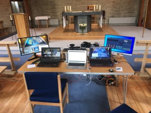 Farnborough student's technical wizardry helps livestream masses