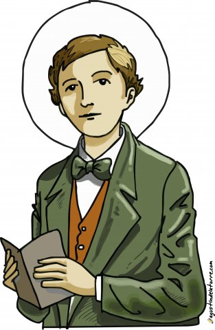 Dominic Savio Prayer Card