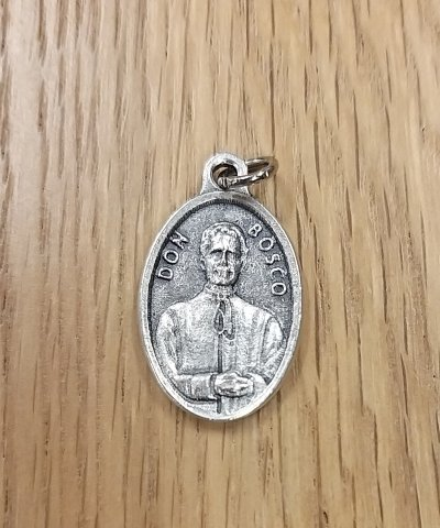 Don Bosco Oval Medallion