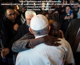 'Fratelli tutti' - Pope Francis calls humanity to to come together