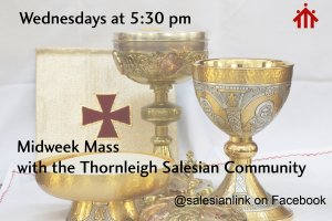 Midweek Mass (New time)