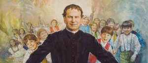 Sunday Mass on the feast of Don Bosco