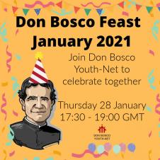 Celebrate the Feast of Don Bosco with DBYN
