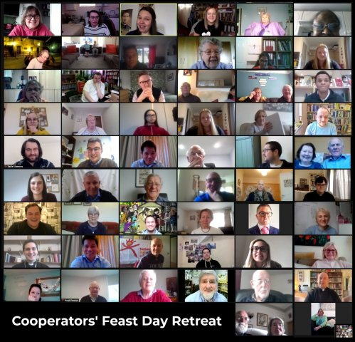 Salesian Family across Europe joined GBR Cooperators online for Feast