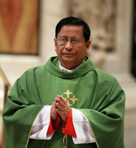 Cardinal Bo calls for peace and dialogue after Myanmar coup