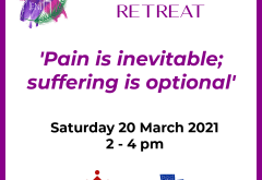 Lent retreat: 'Pain is inevitable; suffering is optional'
