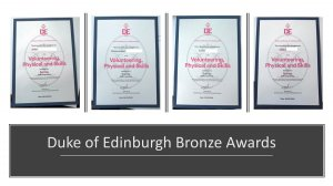 Salesian students' Duke of Edinburgh Award achievements