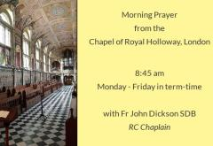 Morning Prayer from Royal Holloway